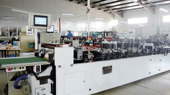 Automatic Bag Making Machine